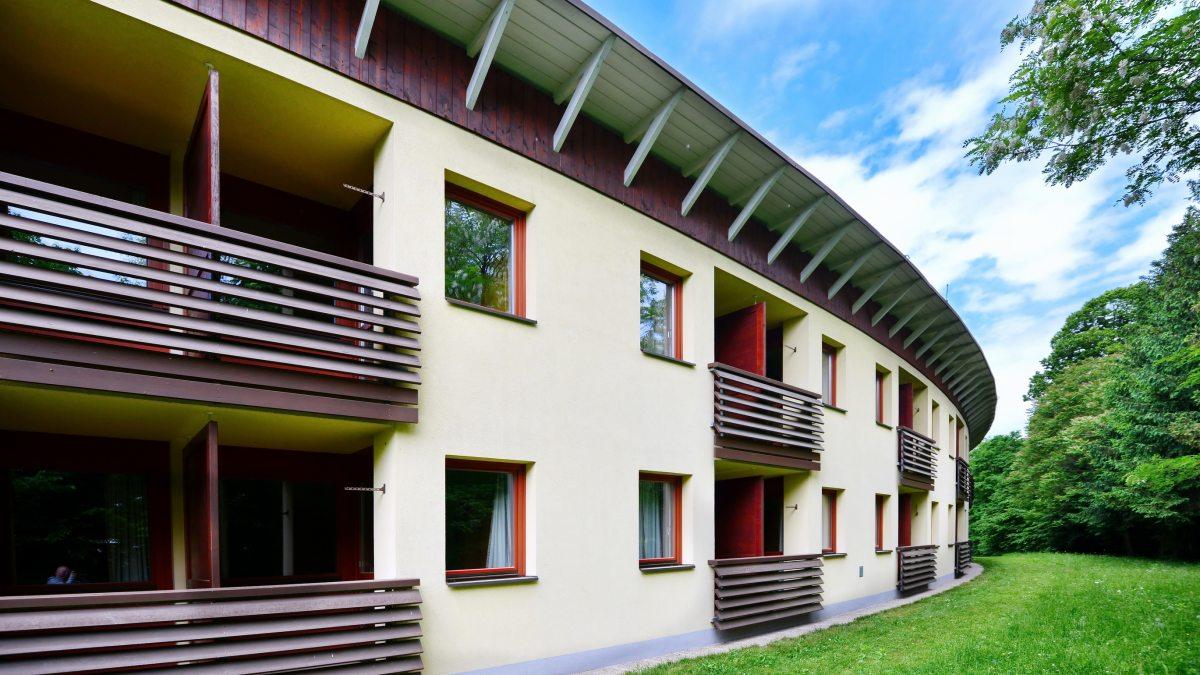 Das Hotel des Bildungshauses Schloss Krastowitz