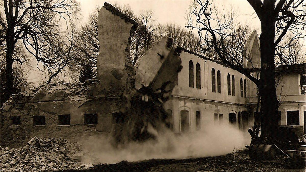 Geschichtsbild zum Schloss Krastowitz